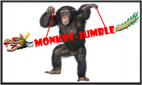 Monkey Jumble Logo